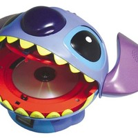 Stitch CD player opens up wide