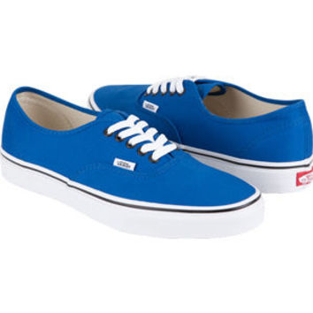 Vans Authentic Mens Shoes Snorkel Blue/Black  In Sizes
