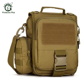 Protector Plus Tactics Travel Laptop Tote Men Flap Removable Camo Shoulder Bag Gyms Camp Messenger Bag Travel Crossbody Bags