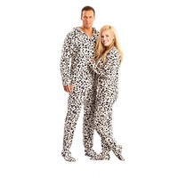 Dalmatian printed Footed Pajamas