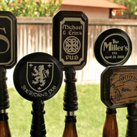 BEER Custom Beer Tap Handle Fits your standard by ScissorMill