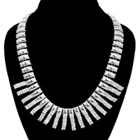 Chunky Metal Chain Necklace Set