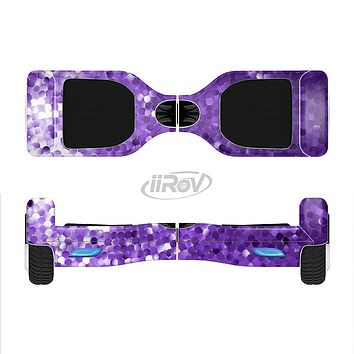 The Purple Shaded Sequence Full-Body Skin Set for the Smart Drifting SuperCharged iiRov HoverBoard