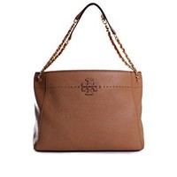 Tory Burch McGraw Chain Slouchy Tote in Baguette