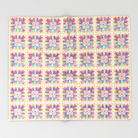 Summer Breeze Throw Blanket by Octavia Soldani | Society6