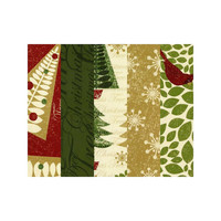 Christmas Tree Glitz Fat Quarter Bundle, Fabric, AE Nathan, 100 % cotton