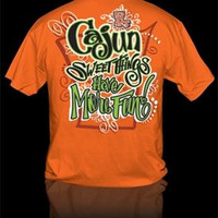 Sweet Thing Funny Cajun Sweet Thing More Fun Girly Bright T Shirt