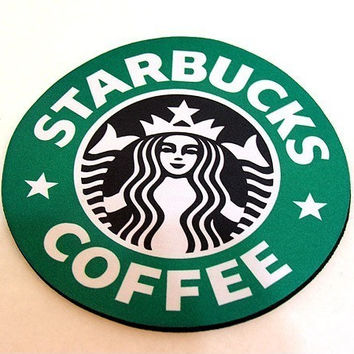 Starbucks Mousepad Seattle Round version