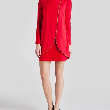 Ted Baker Dress - Edlyn Asymmetric Zip Tunic