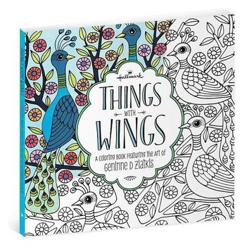 Hallmark Things With Wings: The Art of Geninne Zlatkis Coloring Book