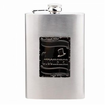 Personalized Groomsman Wedding Flask