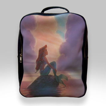 Backpack for Student - Ariel The Little Mermaid Sunset Bags