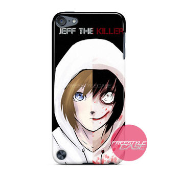 Jeff The Killer Before After iPod Case Cover