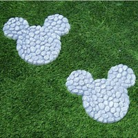 """10"""" Wide Disney's Mickey Mouse Stepping Stones at Garden and Pond Depot"""