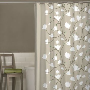 Heidi Cherry Blossom Shower Curtain