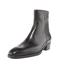 Gravati Low-Heel Zip Ankle Boot