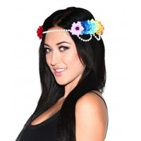Prism & Pearls Goddess Flower Crown