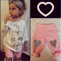 """My Mom Is My Stylist"" Clothing Set"