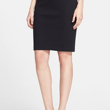 Women's St. John Collection Milano Pique Knit Pencil Skirt
