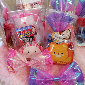 MYSTERY gift BAG hair bow Shimmer glitter mahou BOW