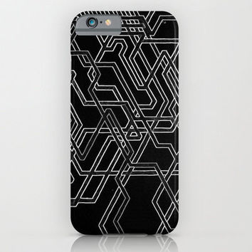 iPhone 6 Case - Negative Subways - unique iPhone case, art iPhone case, hipster iphone case, iphone 6 case, iPhone 6 Plus Case