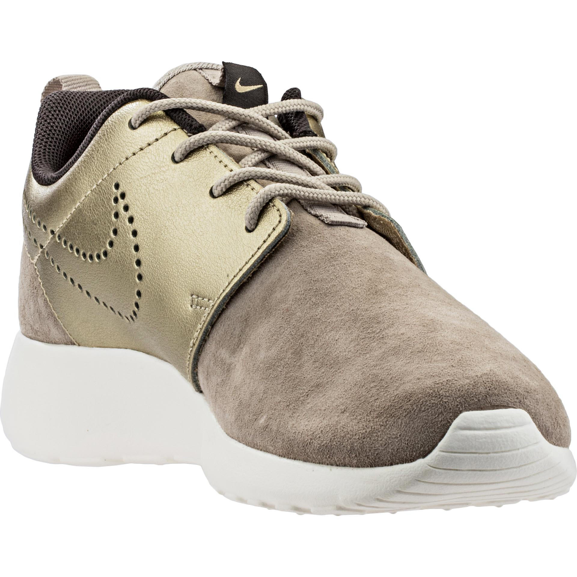 nike roshe run damen metallic gold