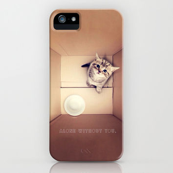 Alone without you - for iphone iPhone & iPod Case by Simone Morana Cyla