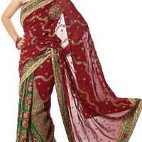 Sari with Rare Magnificence