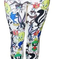 Looney Tunes Ladies Basic Leggings - Medium