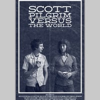 Scott Pilgrim VS The World poster