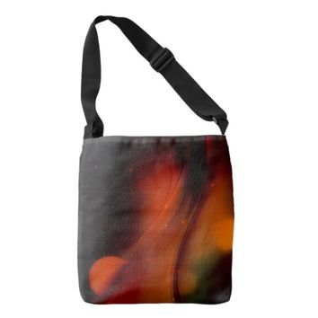 Fire Wave Tote Bag