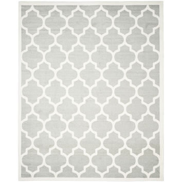 Safavieh Amherst Light Gray & Beige Area Rug & Reviews | Wayfair