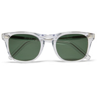 Cutler and Gross Square-Frame Acetate Sunglasses | MR PORTER