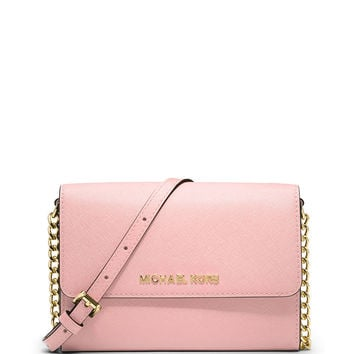 Jet Set Travel Wallet-on-a-Chain, Blossom - MICHAEL Michael Kors