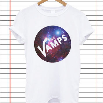 The Vamps Galaxy popular item T Shirt Mens S-2XL and T Shirt Womens Size S-2XL by Dicakno