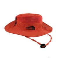 Orange Color Outdoor Summer Fishing Hat Climbing UV Protection Sun Bucket Hats Curtain Cycling Breathable Visors