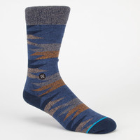 Stance Four Corners Mens Crew Socks Blue  In Sizes L/Xl For Men 22594420004
