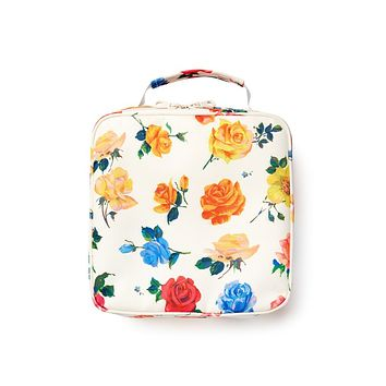 BAN.DO WHAT'S FOR LUNCH? SQUARE LUNCH BAG - COMING UP ROSES