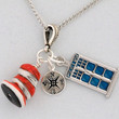 Oh the Places You'll Go Doctor Who Tardis Seuss Necklace