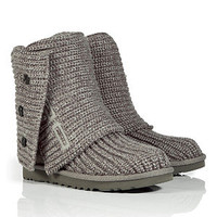 UGG Australia - Grey Classic Cardy Boots