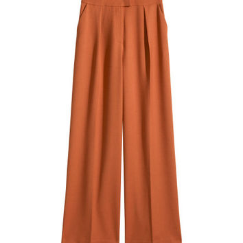 Wide-leg Suit Pants - from H&M