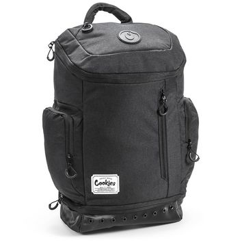 Smell Proof Techy Cookies Backpack in Black