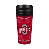 Ohio State Buckeyes 14oz. Full Wrap Travel Mug
