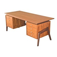 Pre-owned Teak Executive Desk