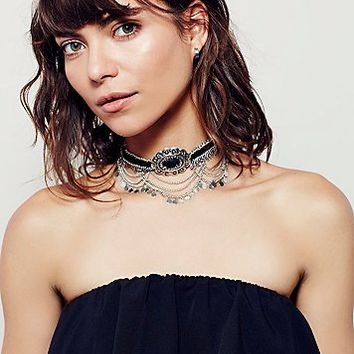 Free People Sharp Shooter Statement Choker
