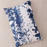 Riverside Tool & Dye X UO Hand-Dyed Denim Throw Pillow | Urban Outfitters Canada