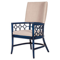 Carlton Dining Armchair, Indigo, Arm Chairs