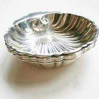Birks Sterling Silver Shell Dishes 96/18 Set of 4