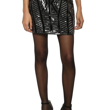 Robertson & Rodeo Sequin Mini Skirt