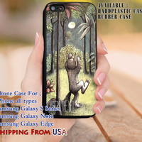 Moon Where the Wild Things iPhone 6s 6 6s+ 5c 5s Cases Samsung Galaxy s5 s6 Edge+ NOTE 5 4 3 #cartoon #WhereTheWildThingsAre dl8